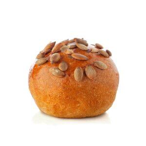 Mini bun con semi di zucca
