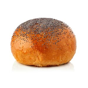 Pane per hamburger con finitura di semi