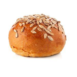 Pane per hamburger con semi di zucca