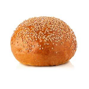 Burger bun con semi di sesamo